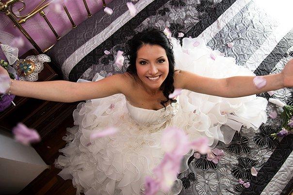 Foto Barbara - Fotografo economico a Torino - La sposa vista dall'alto